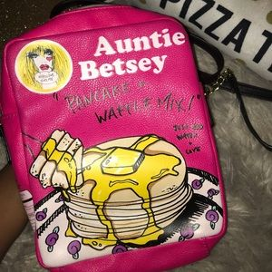 Auntie Betsey Pancake Mix Crossbody Purse